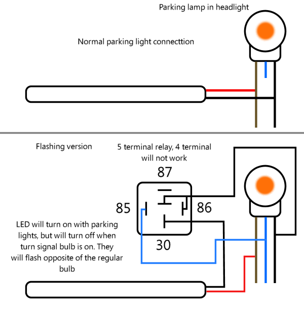 diagram headlight led and interior led pics pontiac g6 forum how to replace headlight wiring harness pontiac g6 at gsmportal.co